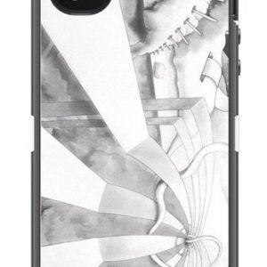 Otterbox Defender Surreal Fantasy for iPhone 4 & 4S Grey / White