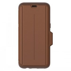 Otterbox Strada Galaxy S8 ''burnt Saddle'' Brown