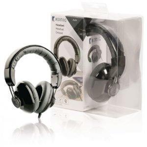 Over ear -kuulokkeet mustat