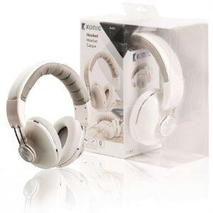 Over ear -kuulokkeet valkoiset