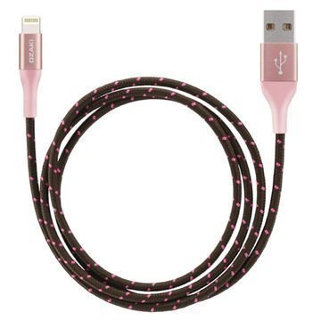 Ozaki O!Tool T-cable Lightning Cable 1m Rose Gold
