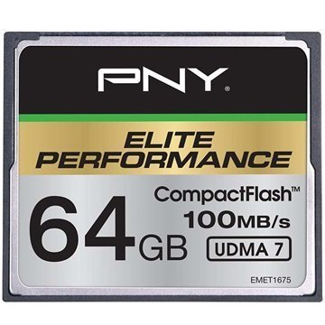 PNY Elite Performance Compact Flash Muistikortti 64Gt