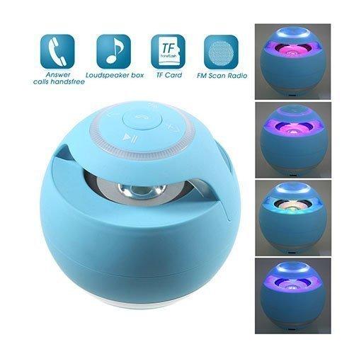 Pallomainen Yst-185 Mega Basso Bluetooth Kaiutin Taskulampulla Sininen