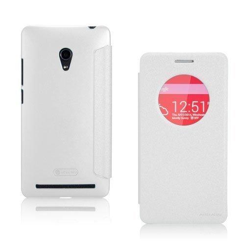 Panama Valkoinen Asus Zenfone 6 Nahkakotelo