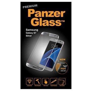 PanzerGlass Premium näytön suojalasi Samsung Galaxy S7 Hopea