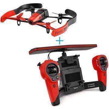 Parrot Bebop Drone & SkyController Punainen