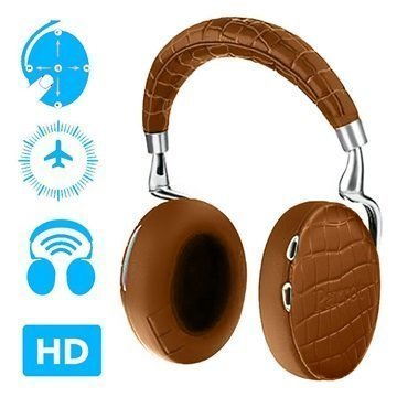Parrot Zik 3 Bluetooth Stereokuulokkeet Ruskea Krokotiili