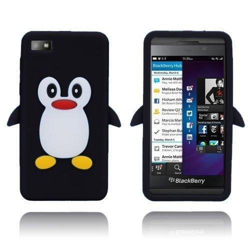Penguin Musta Blackberry Z10 Suojakuori