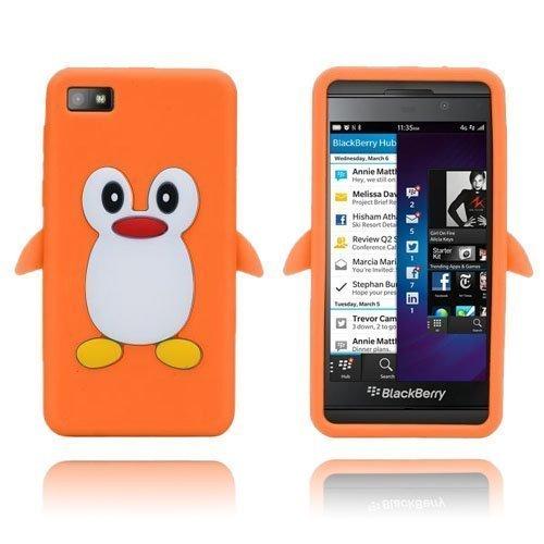 Penguin Oranssi Blackberry Z10 Suojakuori