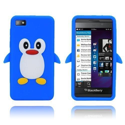Penguin Sininen Blackberry Z10 Suojakuori