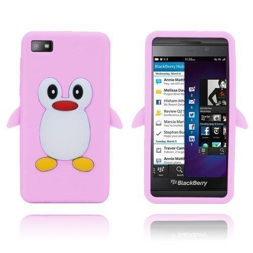 Penguin Vaalea Pinkki Blackberry Z10 Suojakuori