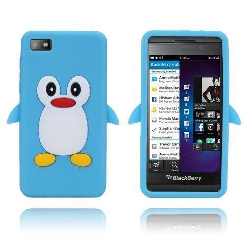 Penguin Vaaleansininen Blackberry Z10 Suojakuori