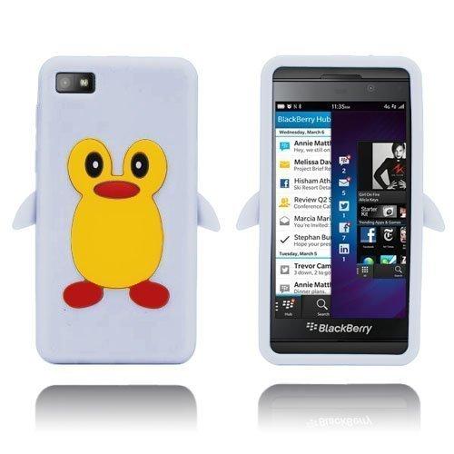 Penguin Valkoinen Blackberry Z10 Suojakuori