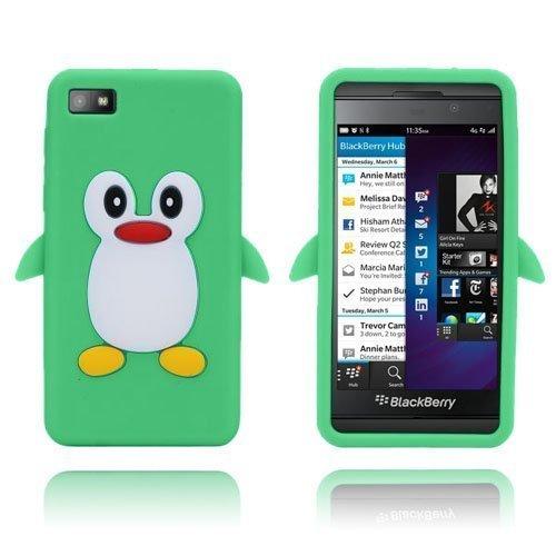 Penguin Vihreä Blackberry Z10 Suojakuori