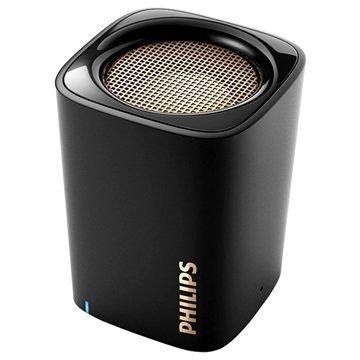 Philips BT100B/00 Kannettava Bluetooth-kaiutin Musta