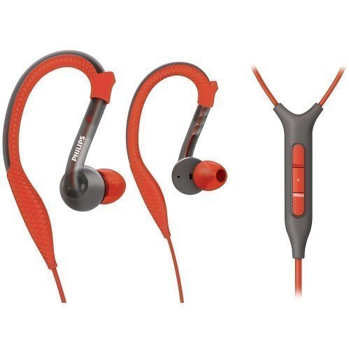 Philips SHQ3217/10 Sport In-Ear with Mic3 for iPhone Orange / Grey