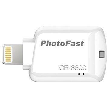 PhotoFast iOS Kortinlukija CR-8800 Valkoinen