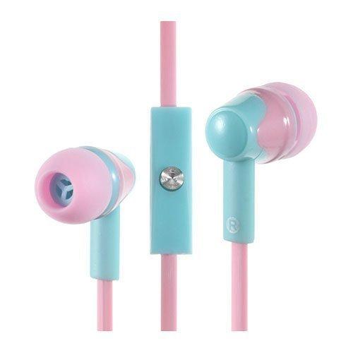 Phw-203 Korvanappikuulokkeet Mikrofonilla Älypuhelimille Pinkki