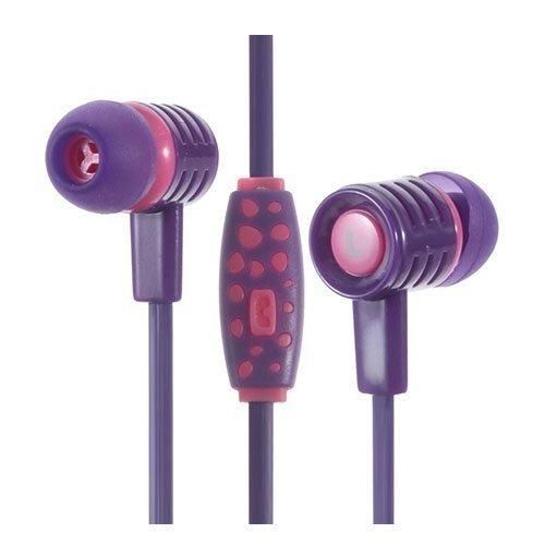 Phw 205 Kuulokkeet Mikrofonilla Violetti