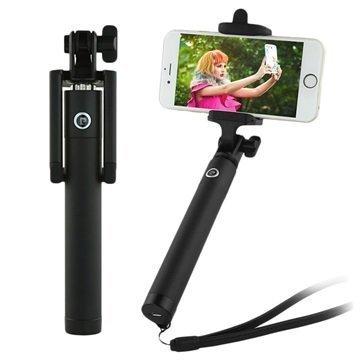 Pierre Cardin PCQ-E07 Bluetooth Selfie Stick Black