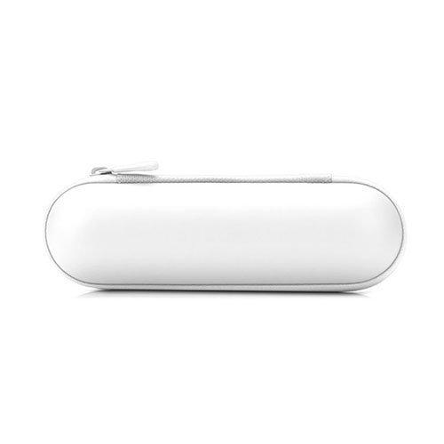 Pillerin Muotoinen Suojaava Kantolaukku Koko: 20 X 5.8 Valkoinen