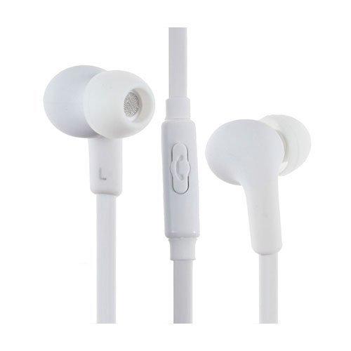 Pinzun Ej-003 Korvanappikuulokkeet Mikrofonilla Valkoinen