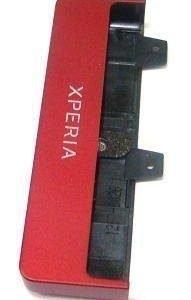 Pohja kansi Sony MT27i Xperia SOLA red