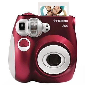 Polaroid PIC-300 Pikakamera Punainen