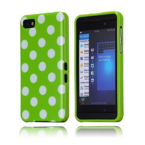 Polka Dots Vihreä Blackberry Z10 Suojakuori