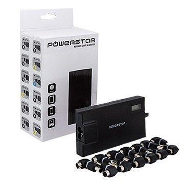 Powerstar Universaali Kannettavan Laturi / Adapteri 90W Musta