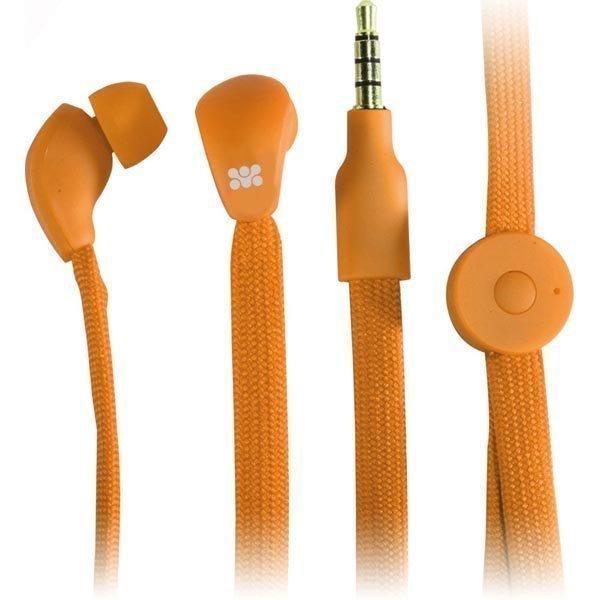 Promate Lacey in-ear headset 10mm elementti 1 2m punottu kaapeli or