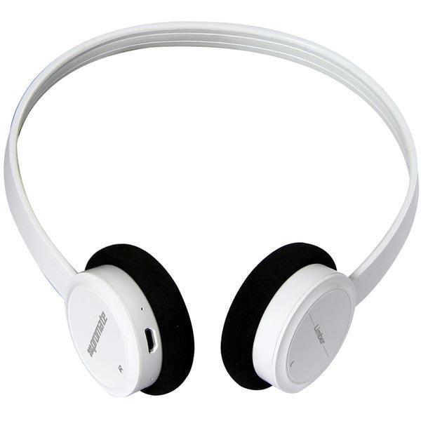 Promate Limber Ultraohuet Bluetooth kuulokkeet valkoiset