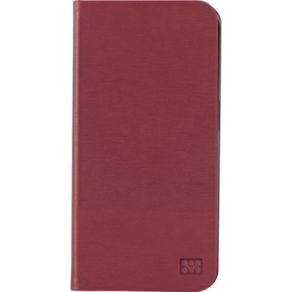 Promate Neat-S6 Samsung Galaxy S6 PU-kotelo S tukitoiminto punaine