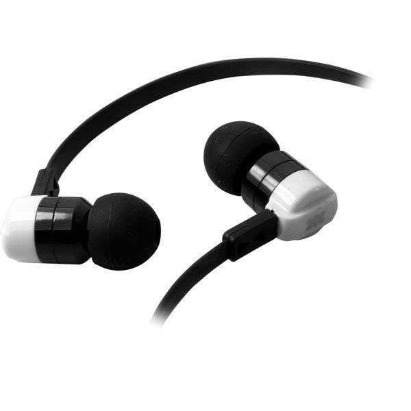 Promate ProDyna Headset 20-20kHz 16 Ohm 1 25m litteä kaapeli va/m