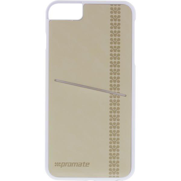 Promate Slit-i6P- joustava kovamuovikuori iPhone6+ korttipaikka bei