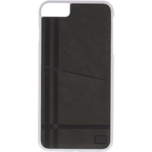 Promate Slit-i6P- joustava kovamuovikuori iPhone6+ korttipaikka rus