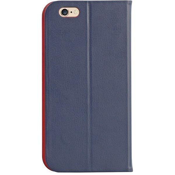 Promate Slit-i6P- nahkakuori iPhone6+ korttipaikka sininen