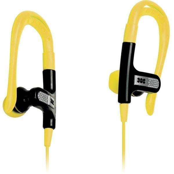 Promate Snazzy behind-the-ear kuulokkeet keltainen