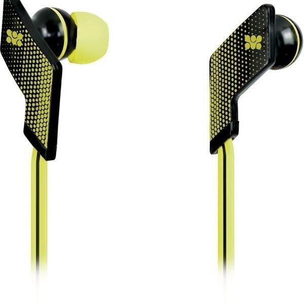 Promate Swank Headset 20-20kHz 16 Ohm 1 25m kaapeli kelt