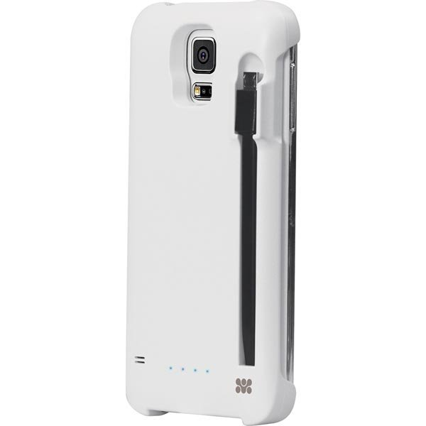 Promate powerCase-S5 kuori sis.raken.2100mAh akku Galaxy S5