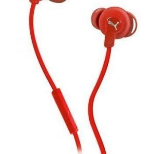 Puma Bulldog In-Ear Headphones with Mic1 Red