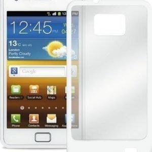 Puro Clear Cover for Samsung Galaxy S II/S II Plus White