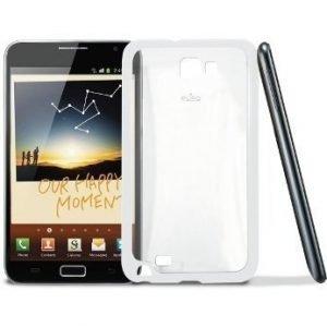 Puro Galaxy Note Clear Cover White