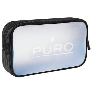 Puro Hi-Tech Accessory Pouch Translucent / Black
