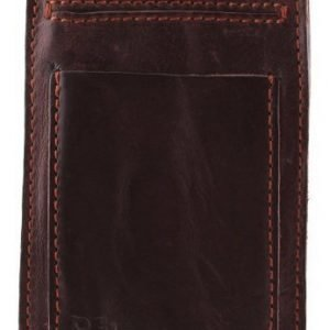 RE: Holster Leather with Pocket for Smartphone (70 x 120 x 10 mm) Dark Brown