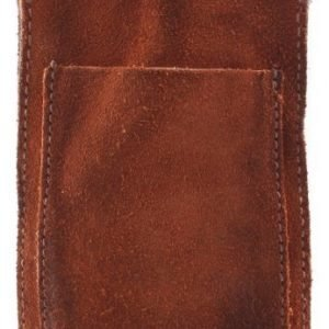 RE: Holster with Pocket for Smartphone (70 x 120 x 10 mm) Mid Brown Suede