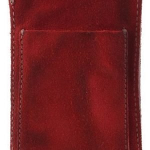RE: Holster with Pocket for Smartphone (70 x 120 x 10 mm) Red Suede
