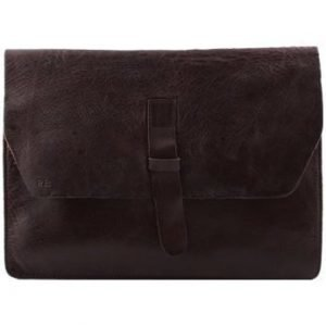 RE: draw Envelope Leather for all iPad (185 x 245 x 10 mm) Dark Brown