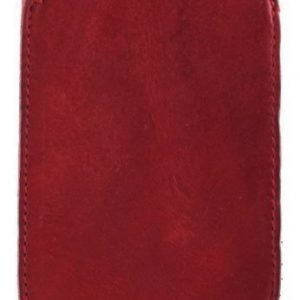RE: flexive Holster Leather for Smartphone (75 x 125 x 10 mm) Red