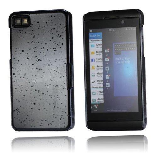 Raindrops Harmaa Blackberry Z10 Suojakuori